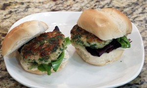 Portabello Turkey Burgers