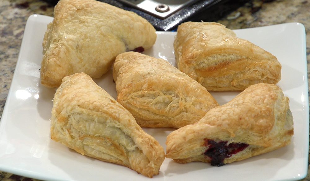 THREE BERRY PUFF PASTRY