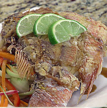 PAN-FRIED WHOLE SNAPPER