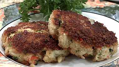 Crab Cakes On Gas Grill