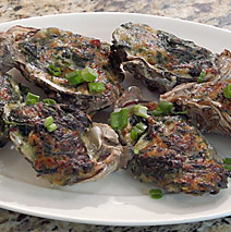 OYSTERS ROCKEFLORE