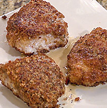 Pecan-Crusted Grouper with Frangelico Sauce